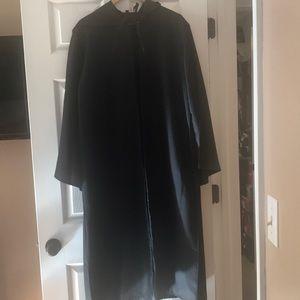 Long black costume robe-EUC